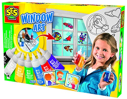 SES creative 00324 - Fensterfarben-Set 8 Farben