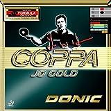 DONIC Coppa Jo Gold Table Tennis Rubber (Black)