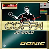 #6: DONIC Coppa Jo Gold Table Tennis Rubber (Black)