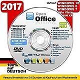 Open Office Paket 2017✔ PREMIUM für Windows 10 ® Windows 8 WIN 7 Vista XP ✔ Schreibprogramme✔ ORIGINAL von STILTEC ©