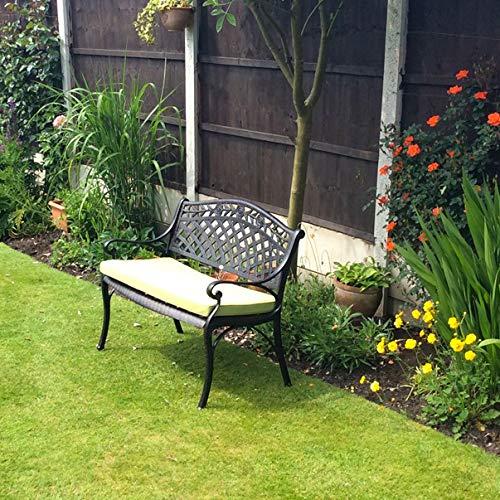 Lazy Susan – ROSE Gartenbank aus Aluminium - 2