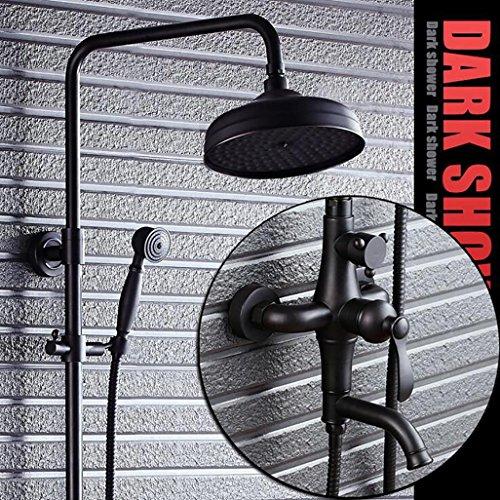 OOFAY TAPS@ GK-Dusche System Antike Dusche Sätze Schwarz Bronze Niederschlag Dusche Messingdusche Kopf Handduschen Schlauch Handduschekopf