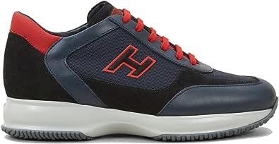 Hogan Scarpe da Uomo Interactive Sportive Sneakers in Pelle