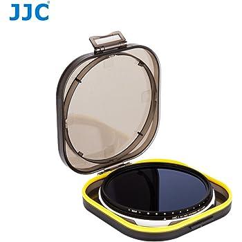 ND JJC F-NDV72 Variable Graufilter ND2 Filter Mit Einem Zierlich Wasserfestigkeit Filter Fall ND400 Verstellbar 72 mm