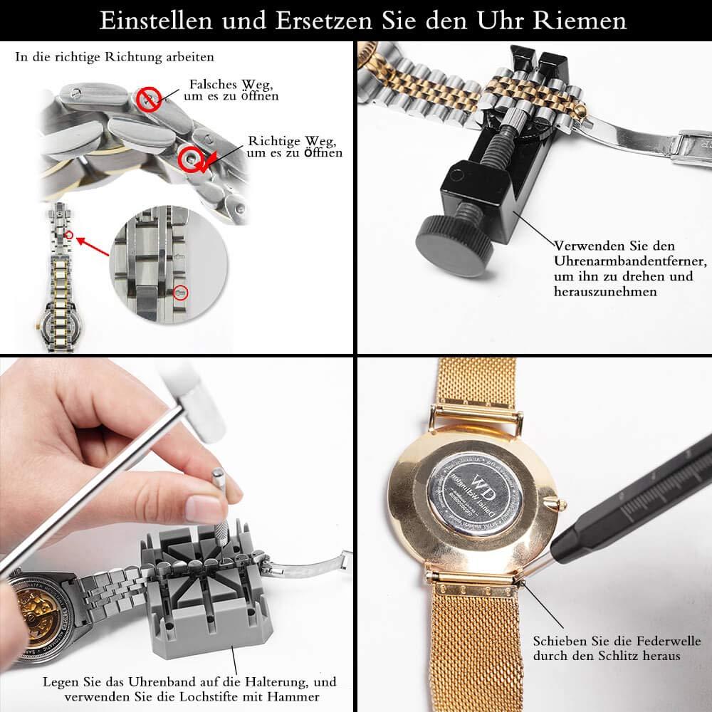 *18 tlg.* Uhrmacher-Werkzeug Uhren-Werkzeug *18 tlg.*