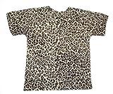 BabywearUK - Camiseta de leopardo,fabricada en el Reino Unido Estampado De Leopardo