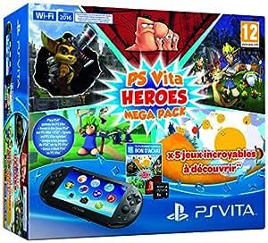 Heroes Mega Pack + Carte Mémoire 8 Go pour PS Vita