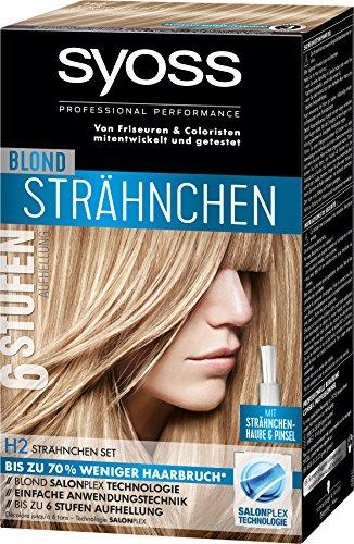 Syoss Blond H2 Strähnchen Set Stufe 3, 3er Pack (3 x 95 ml)