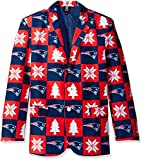 Forever Collectibles NFL Patches Business Jacke, unisex, BSTJKTNFPAT, New England Patriots, Large