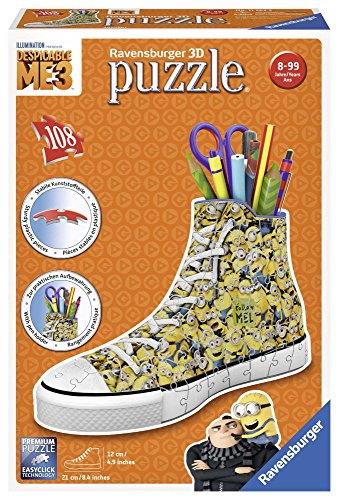 Ravensburger Zapatilla Portalápices, Girly Girl Edition, Minions 11262