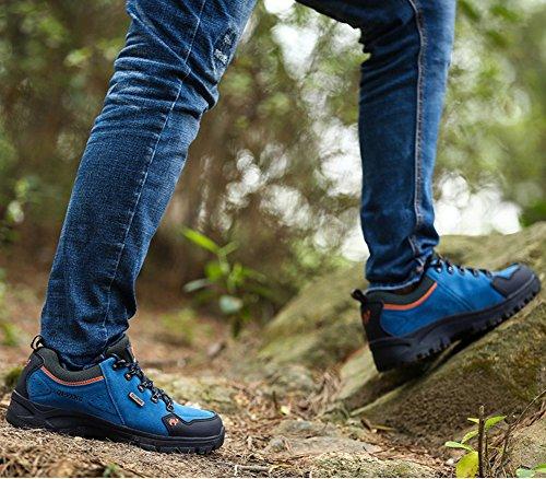 df0c864659a2b ... Minetom Trekking Chaussures Homme Femme, Chaussures De Randonnée  Imperméables Escalade Chaussures Unisexe Glissement Résistant Sneakers ...