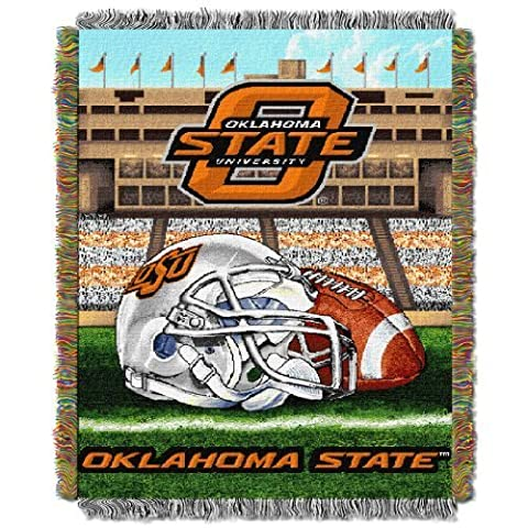 NCAA Tapestry Throw NCAA Team: Oklahoma State by Lincoln