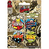 Pack Chapas Marvel Comics