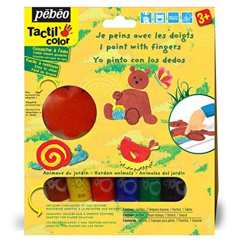pebeo-kit-gouache-de-peinture-aux-doigts-les-animaux-du-jardin-6-tubes-20-ml-assorties
