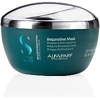 ALFAPARF Reconstruction Reparative Mask RICOSTRUZIONE Maschera RIPARATIVA 200ML Unisex-Adulto, Nero, Solo