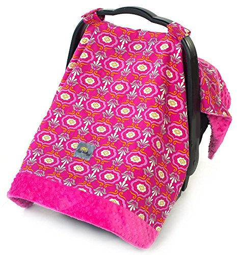 itzy-ritzy-cozy-happens-infant-car-seat-canopy-and-tummy-time-mat-pink