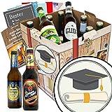 Zur Promotion | Bier Set | Biere aus Deutschland | Zur Promotion | Biergeschenke für Männer | Chemie Promotion Geschenk | Geschenk Promotion Ingenieur | GRATIS Bier Buch, Geschenk Karten und Bier Bewertungsbogen