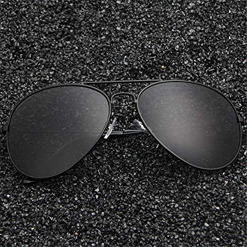 Sonnenbrille Wild Trend Driver Metall Frosch Spiegel Vollformat Farbfilm Sonnenbrille schwarz + weiß Code