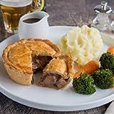 The Real Pie Company - Steak Pie Selection - Award Winning Premium British Pies, 6 x 230g Pies (Just Steak)