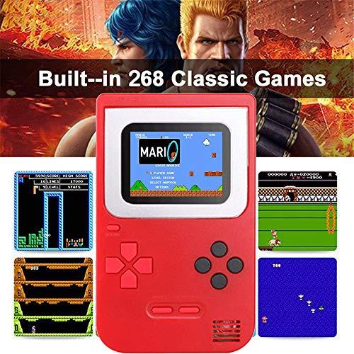 Gameboy-Console-de-Jeu-Portable-Built-in-268-Jeux-Classiques-Cadeaux-danniversaire-pour-Les-Enfants-Nol-Tetris-Pas-Cher-Zero-Ecran-Classic-Rouge