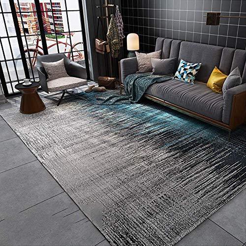 SADDPA Einfach Wohnzimmer Teppich Leichter Bodenmatte Modern Bedruckter Teppich Schlafzimmer Bettdecke - Luxus Traditionelle Teppich