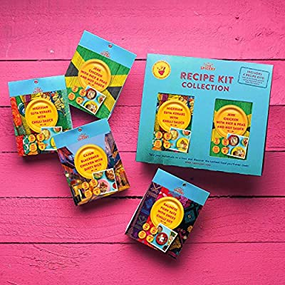 The Spicery Recipe Kit Collection - 4 x Summer BBQ Kits from The Spicery