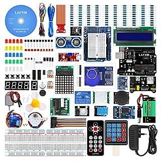 LAFVIN for UNO Ultimate Starter kit for Arduino UNO R3 Mega2560 Mega328 Nano with Tutorial