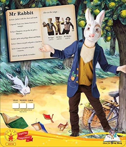 Imagen de rubie's  disfraz infantil del sr. conejo blanco de alicia en el país de las maravillas. alternativa