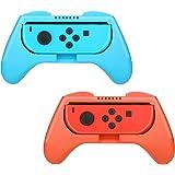 HEYSTOP Nintendo Switch Joy-con Grips (2 Piezas), Mando Joy-con Grip Kit, Funda Protector Handle Kits para Mandos Joy-con Set