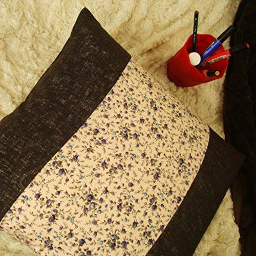 cushionliu-kissen-hlse-geblmten-stoffen-nhen-baumwolle-blumen-original-kissen-kissen-45-45-cm-schwar