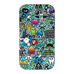 Enticing Candy Back Case Cover for Galaxy Grand Neo Plus