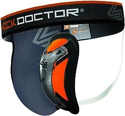 Shock Doctor Tiefschütz Herren mit Ultra Carbon Flex Cup - Entwickelt für den Kampfsport: Boxen, Karate, Taekwondo, Krav Maga, MMA, Muay Thai …