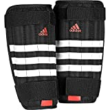 adidas Herren Evertomic Lite Schienbeinschoner, Black/White/Solar Red, XL