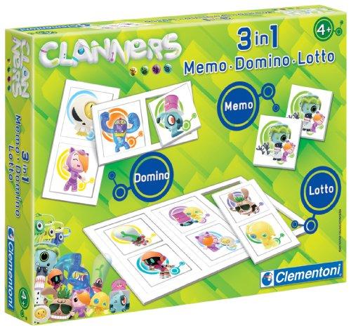Imagen principal de Clementoni- Kit 3 en 1 Memo-Domino-Lotto Clanners