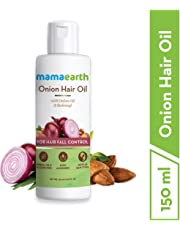 Mamaearth Onion Oil for Hair Growth & Hair Fall Control with Redensyl 150ml