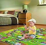 Tomasa Babyschleichenmatte Spielmatte Kinde Paradies Kinderspielteppich Spielmatte Schaumstoffmatte Puzzlematte bunt bodenpuzzle