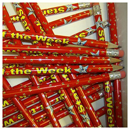 primary-teaching-services-ltd-gp16-pack-of-12-star-of-the-week-metallic-finish-pencils