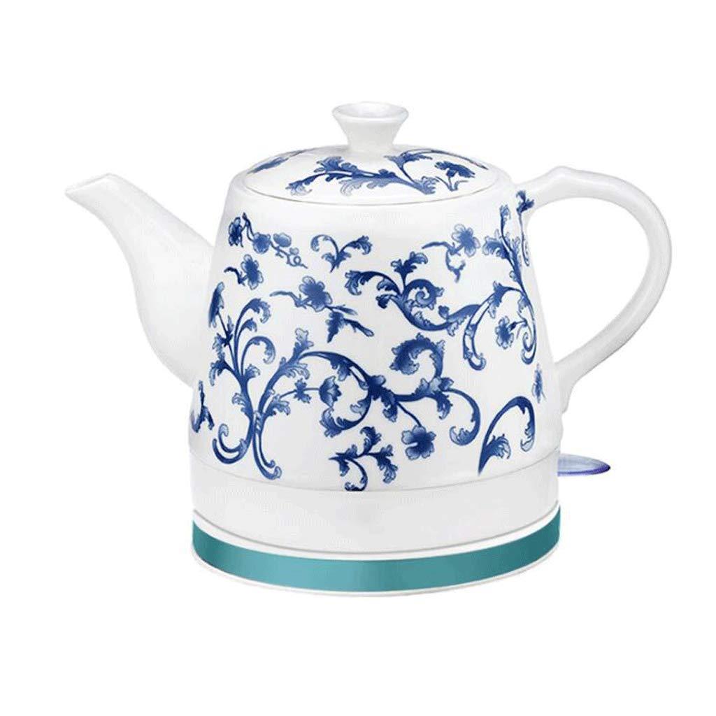 Keramik Wasserkocher Automatische Abschaltung Schnellkochendes China Vintage blau und weiß Porzellan Stil 1.2L kocht…