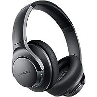 Soundcore Life Q20 Bluetooth Kopfhörer, Aktive Geräuschunterdrückung, 40 St. Wiedergabezeit, Hi-Res Audio, Intensiver…