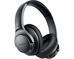 Anker Soundcore Life Q20 Hybrid Active Noise Cancelling Headphones, Wireless Over Ear Bluetooth Headphones, 40H Playtime, Hi-