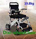 Foldable Electric Wheelchair Dixi best quality foldable portable 19.8kg light weight comfortable manual electric wheelchair