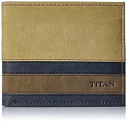 Titan Semi Formal Tan Mens Wallet (TW177LM1TN)