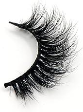 Arison Lashes 3D 100% Handgefertigte Künstliche Wimpern Sibirischer Nerzhaar Natürlicher Blick Augen Falsche Wimpern (1 Paar)
