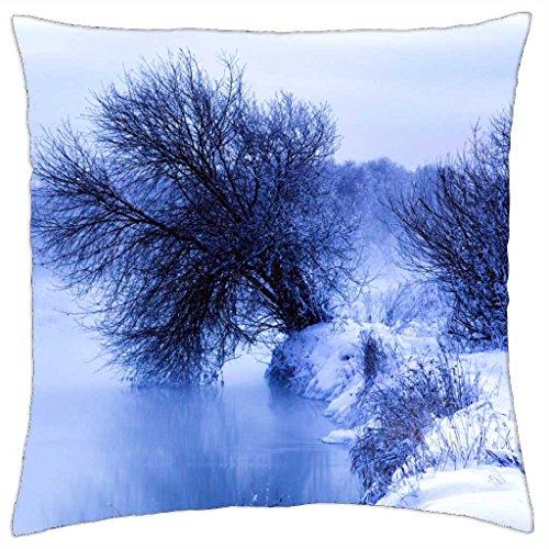 Winter Morning - Throw Pillow Cover Case (18 (9630 Cover)