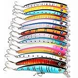 Usato, Goture - Kit di esche da pesca artificiali di tipo usato  Spedito ovunque in Italia