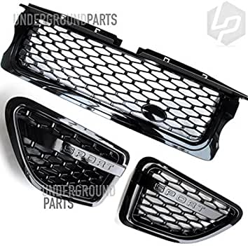 Underground Parts UP009 Black Front Grille Covers