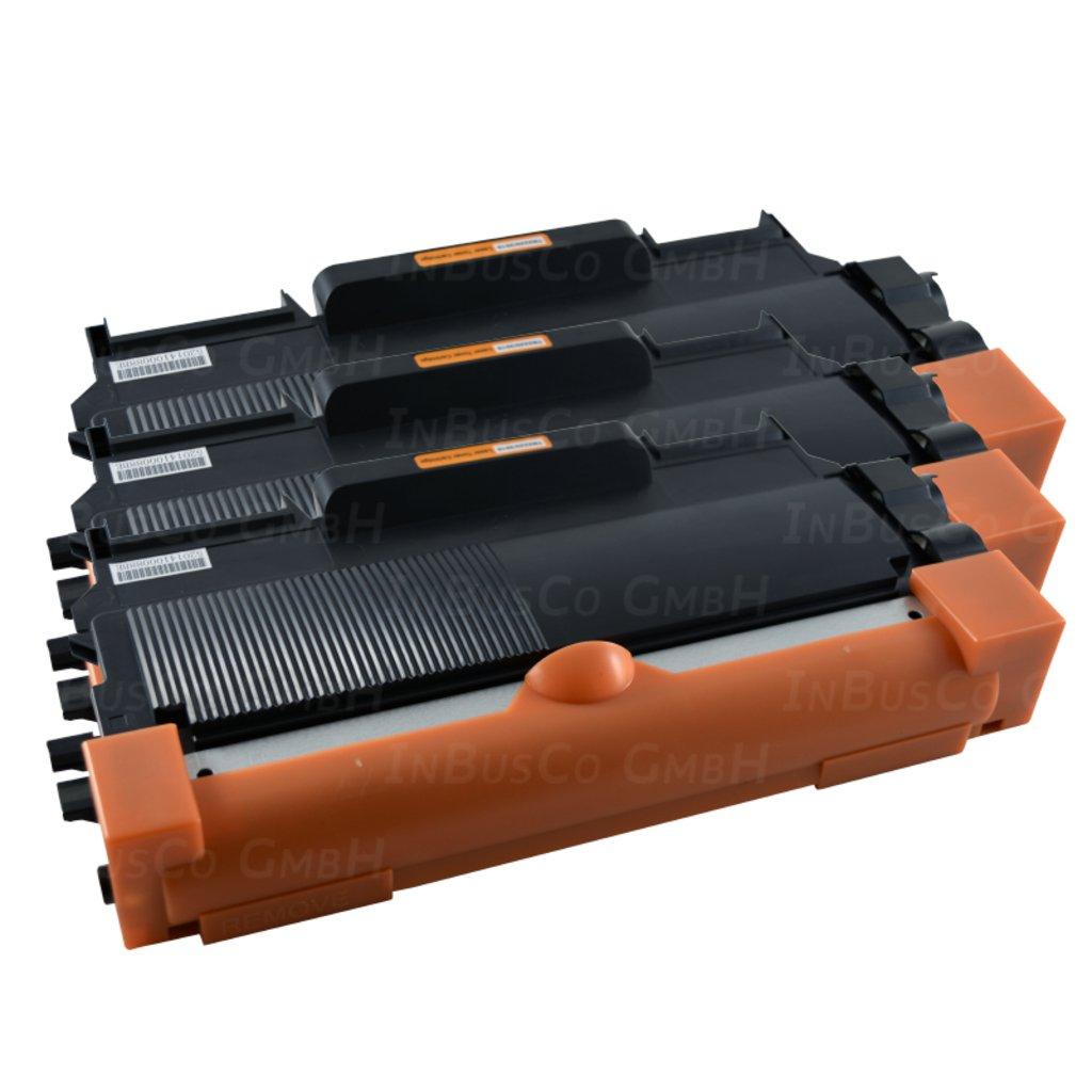 3X Toner XXL TN 2220per Brother MFC 7360, MFC 7360N, MFC 7360NE, 7460, MFC 7460dn