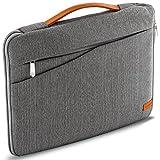 deleyCON Notebook-Tasche Macbook Laptop bis 17' (43,2cm) Schutztasche aus robustem Nylon 2...