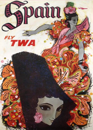 vintage-travel-spain-with-twa-250gsm-art-card-gloss-a3-reproduction-poster
