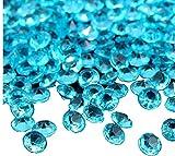 ILOVEDIY 2000 Stk 3mm Deko Diamanten Dekosteine Acryl Kristalle Streuteile Tischdeko Hochzeit